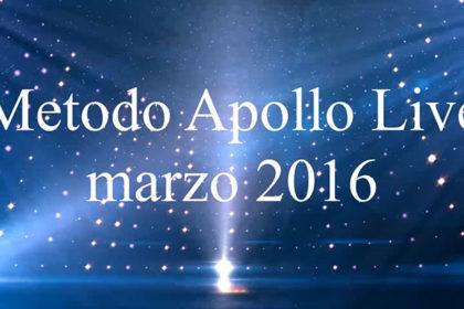 Metodo Apollo Live - marzo 2016