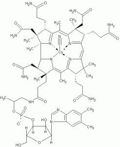 struttura vitamina B 12